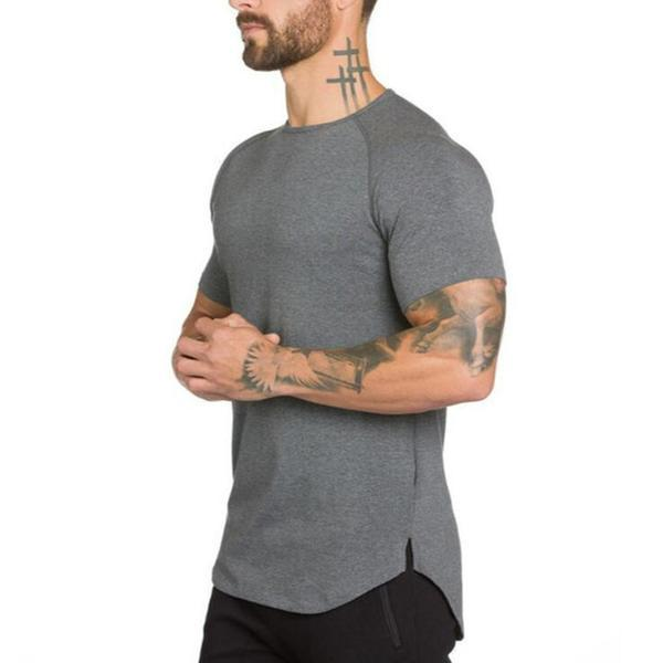 Men's Muscle Fit Bodybuilding Fitness T-Shirts - PeacefulEnergy