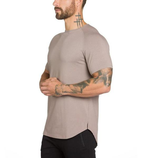 Men's Muscle Fit Bodybuilding Fitness T-Shirts