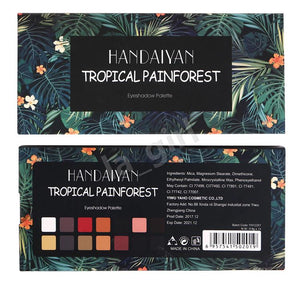 TROPICAL 14 Colors Eyeshadow Palette