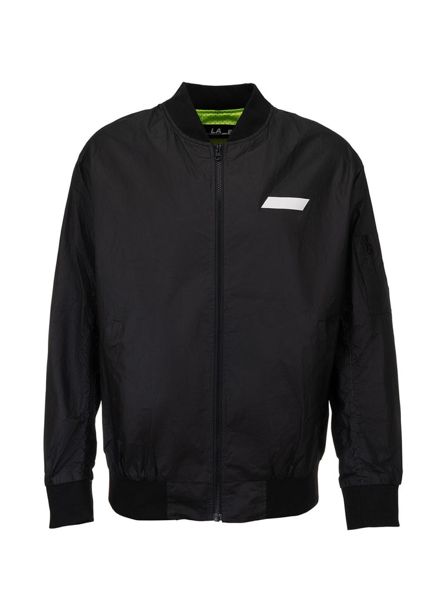 LA_B Coated Tyvec Jacket Black men