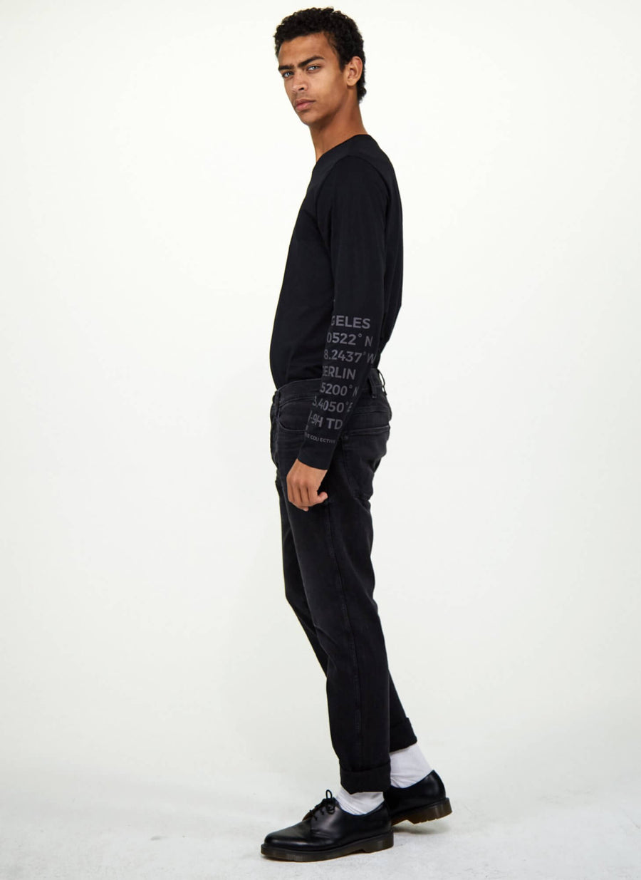 LA_B Big Data Long Sleeve men