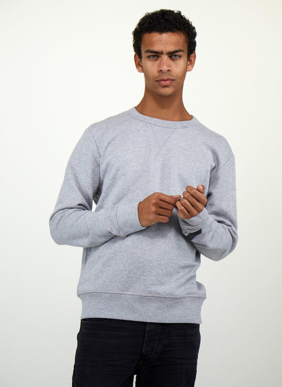 LA_B Classic Sweatshirt Heavy Grey men