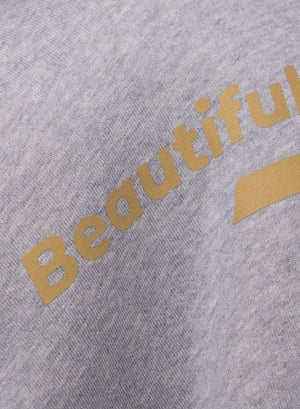 LA_B Beautiful Beasts Sweatshirt heather grey