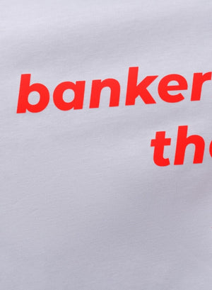 LA_B T-Shirt Bankers white Woman