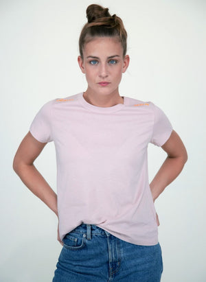 LA_B City T-shirt tech rose women