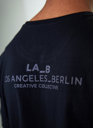 LA_B Classic T-Shirt Black men