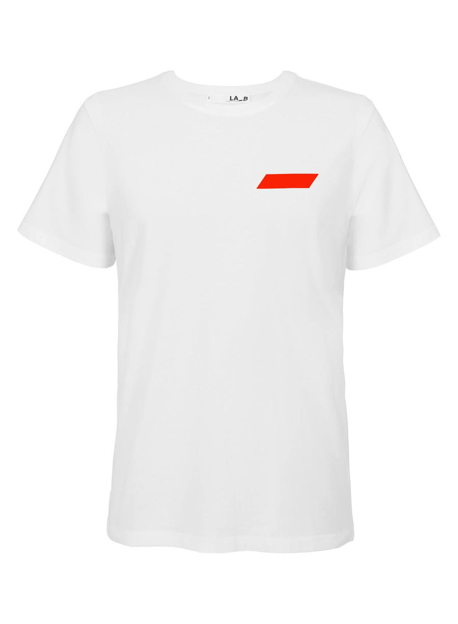 LA_B Classic T-Shirt Neon Red women