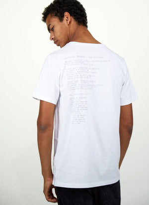 LA_B Small Data T-Shirt white men