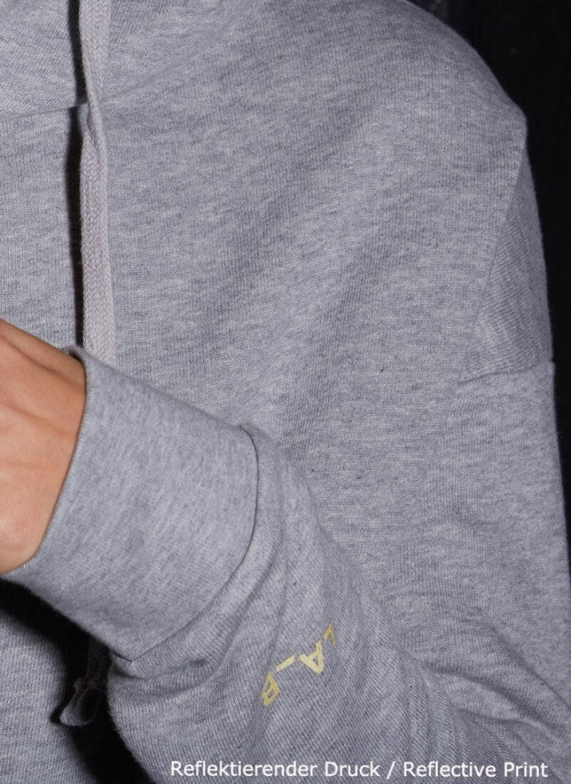 LA_B Classic Hoodie Heather Grey men