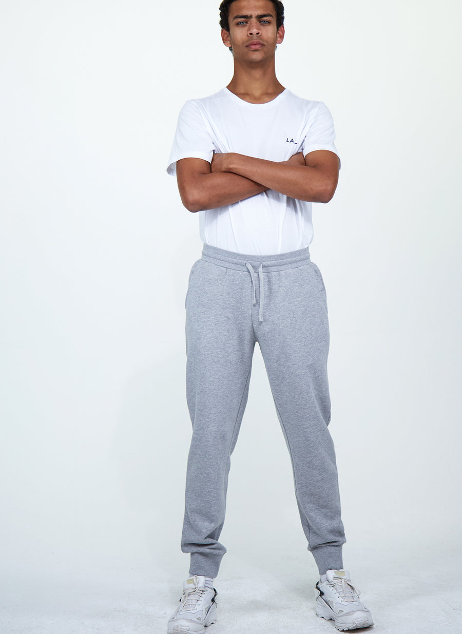 LA-B Logo Stripe Sweatpants