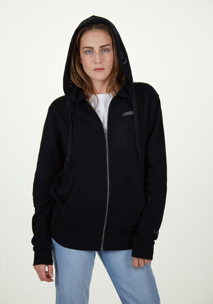 Classic City Hoodie Jacket Black