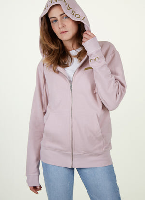 Classic City Hoodie Jacket Tech Rose