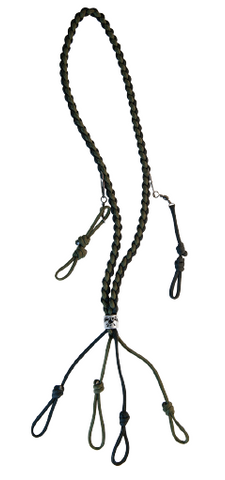 Braided Lanyard With Removable Clips