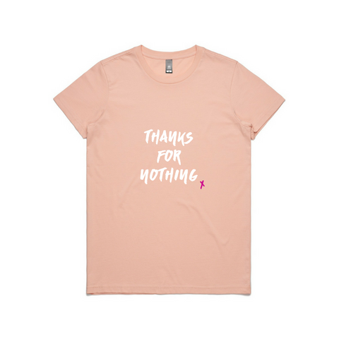 Thanks For Nothing Short Sleeve Tee | YDY