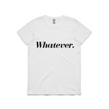 Whatever Short Sleeve Tee | YDY