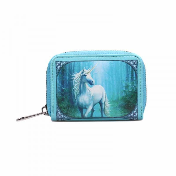 Anne Stokes Coin Purse - Forest Unicon