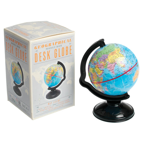 Small Globe Money Box