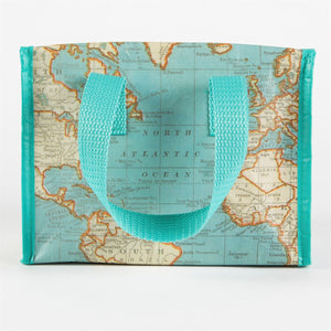 Vintage Map Lunch Bag