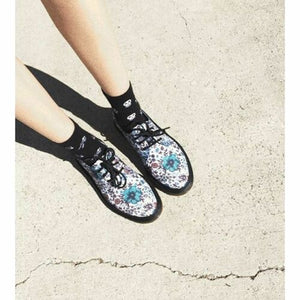 Dr. Martens Lester White Floral Wanderlust Canvas 1461 Kitsch Kawaii UK 4