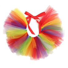 Handcrafted Rainbow Tulle Tutu for Pets