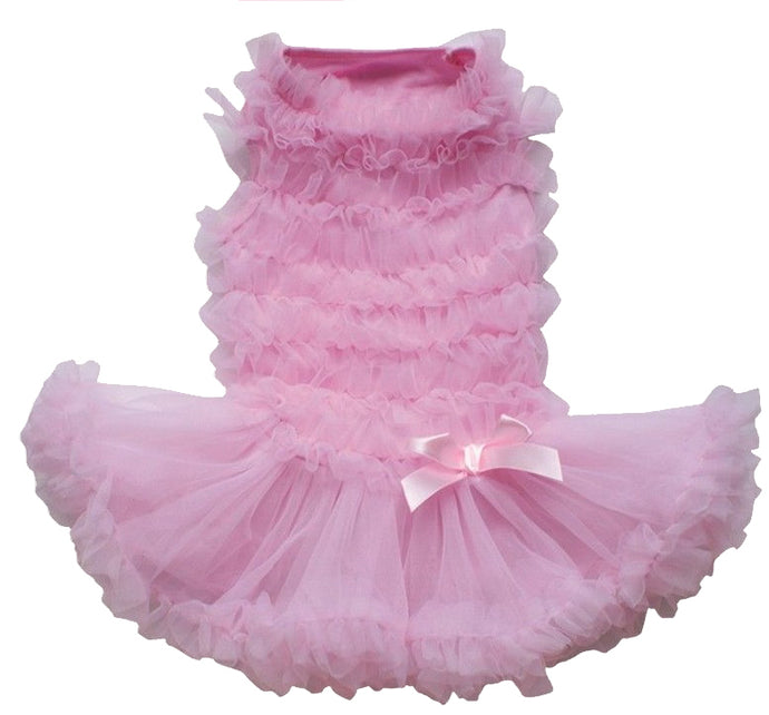 Pink Ruffle Petti Dress
