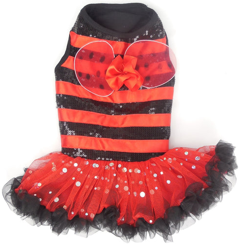 Lady Bug Costume Petti Dress