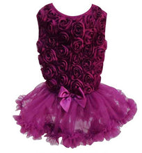 Purple Ruffle Petti Dress