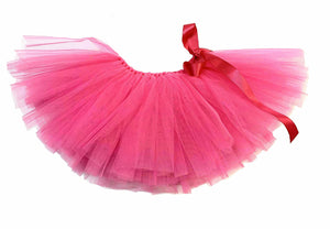 Handcrafted Hot Pink Tulle Tutu for Pets