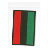 Pan-african Flag Iron-On Patch