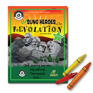 Unsung Heroes of the Revolution Volume 2 Coloring Book