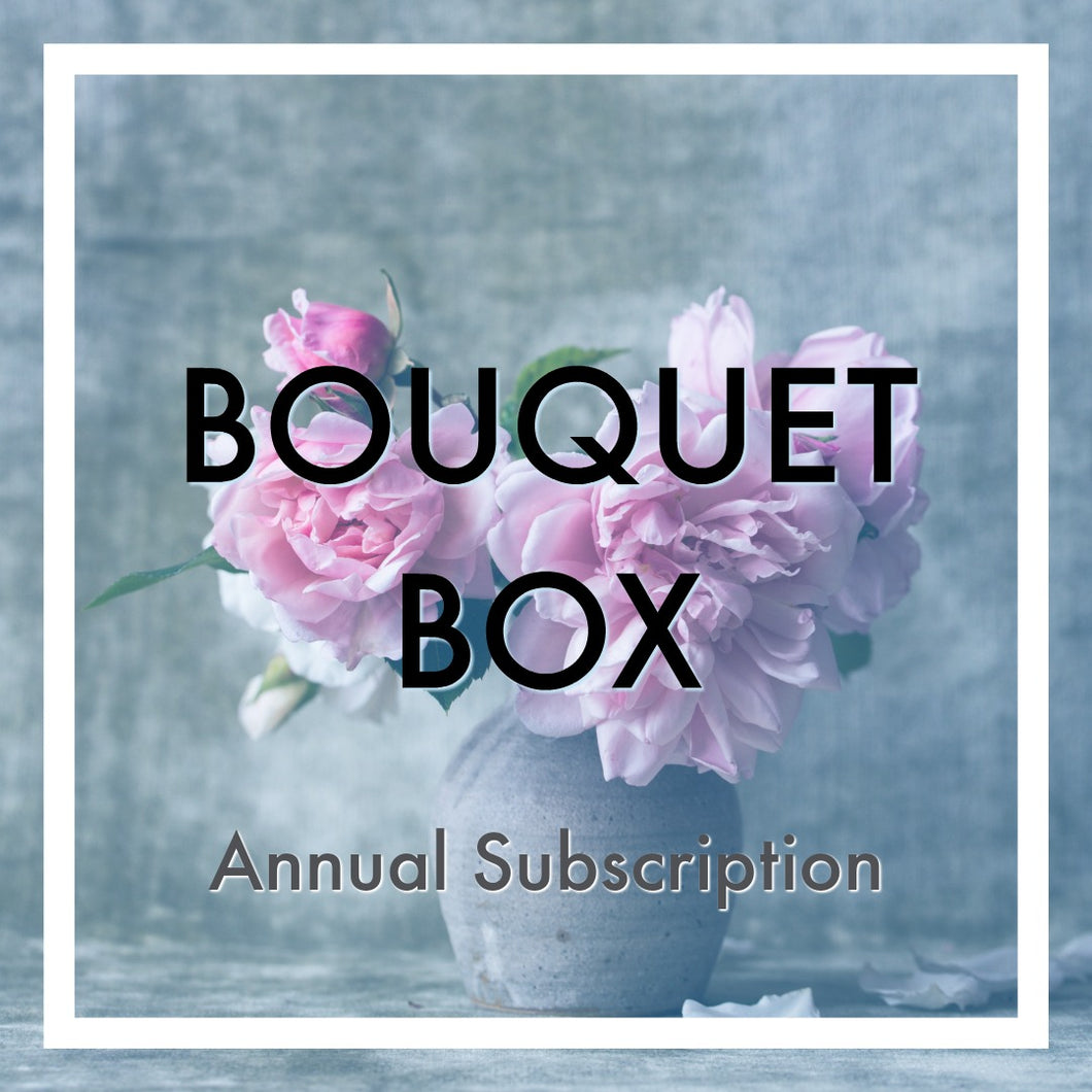 Hello Lovely 'Bouquet' Box Annual Subscription