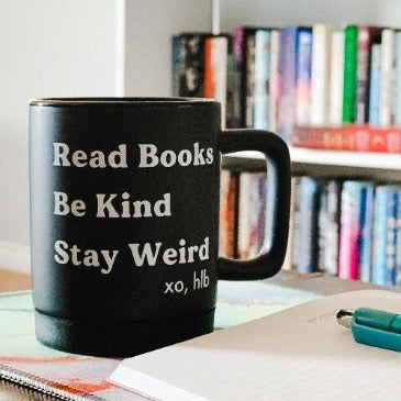 READ. BE. STAY. Mug
