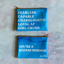 "Hello Lovely ""Heroines"" pouch"