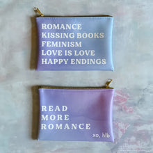 "Hello Lovely ""Romance"" pouch"