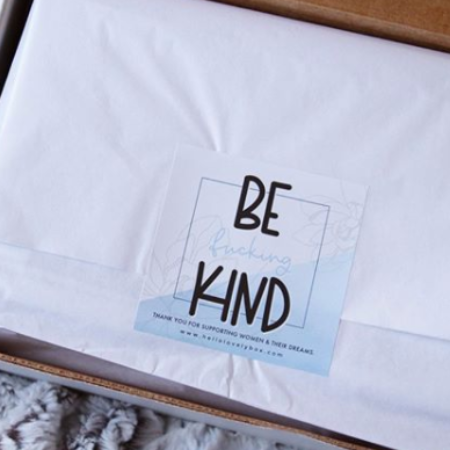 Hello Lovely - 'Be Kind' sticker
