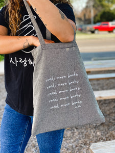 Hello Lovely 'Read More Books' Tote
