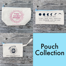 Load image into Gallery viewer, Hello Lovely Canvas Pouch Collection