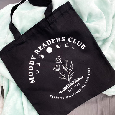 Hello Lovely 'Moody Readers Club' Tote