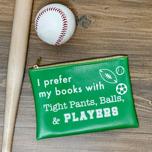 "Hello Lovely ""Sports Romance"" pouch"