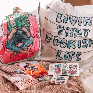 Bookish Life Pillows