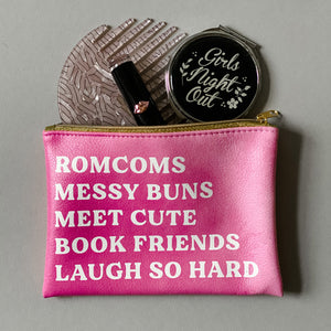 "Hello Lovely ""RomCom"" pouch"