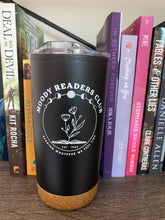 "Load image into Gallery viewer, Tumbler: ""Moody Readers Club"""