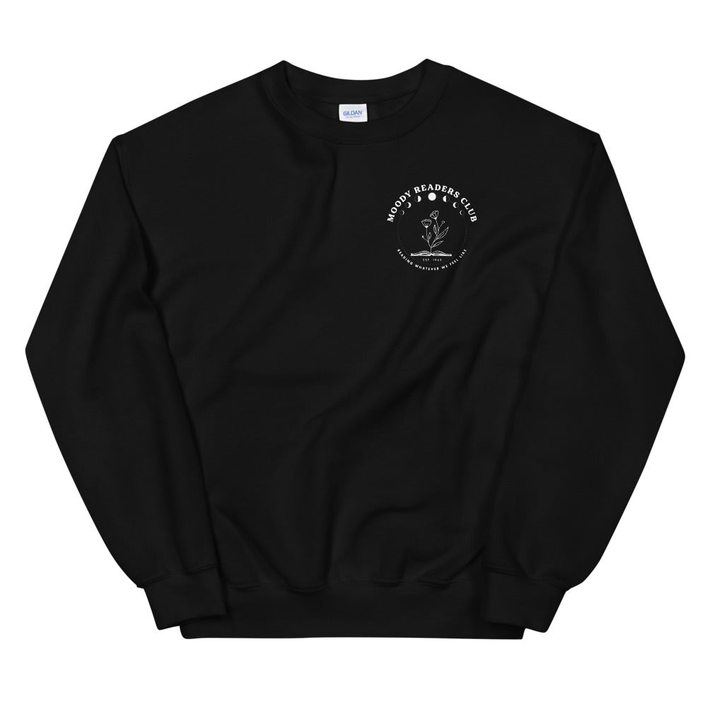 Moody Readers Club Crewneck Sweatshirt