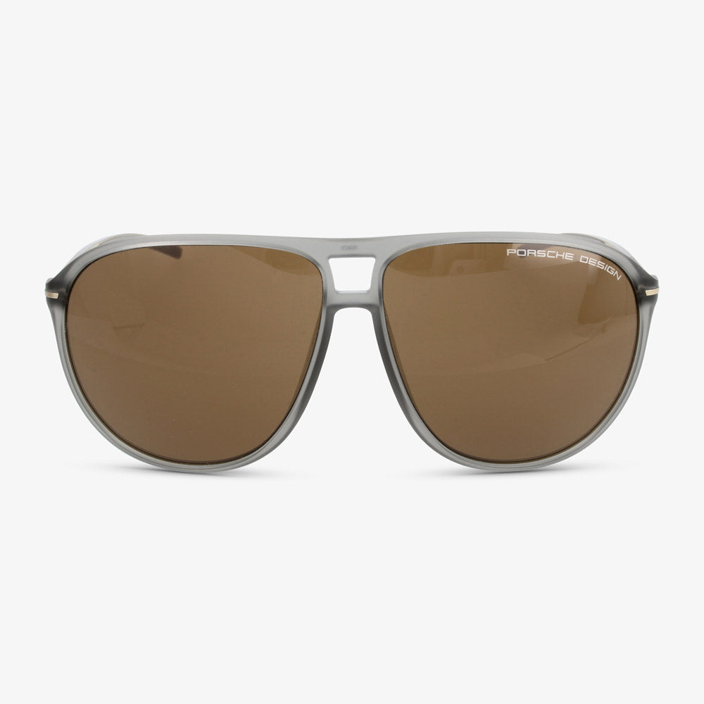 Porsche Design Heren zonnebril P8635 C Grey Transparent