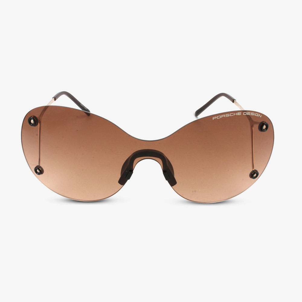 Porsche Design Dames zonnebril P8621 B Gold, Brown