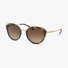 MICHAEL KORS Dames zonnebril MK1029 116813 52 Shiny Pale Gold, Dark Tortoise Charleston