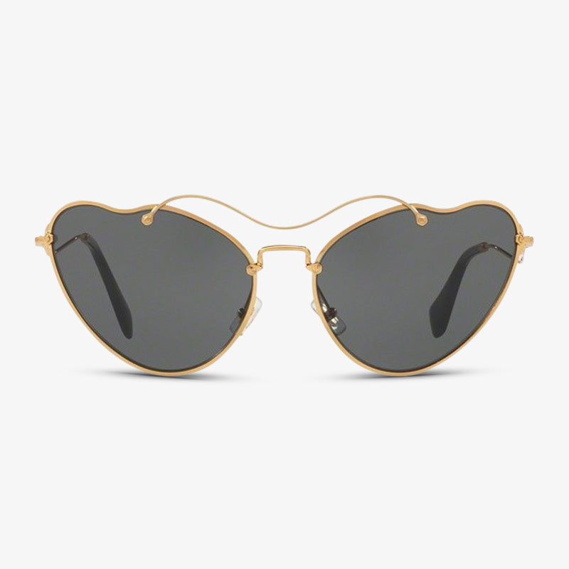 MIU-MIU Dames zonnebril MU 55RS 7OE1A1 65 Antique Gold