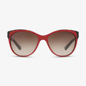 RALPH LAUREN Dames zonnebril RL8156 563213 57 Top Red Dark Havana