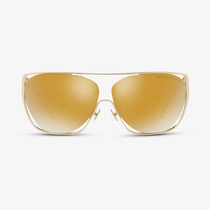 RALPH LAUREN Dames zonnebril RL7063 91167P 64 Matte Light Gold