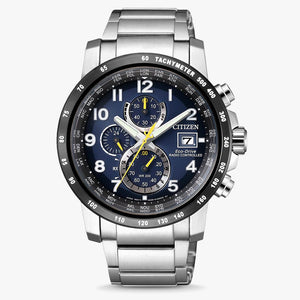 Citizen Radio Controlled AT8124-91L Eco Drive herenhorloge met chronograaf